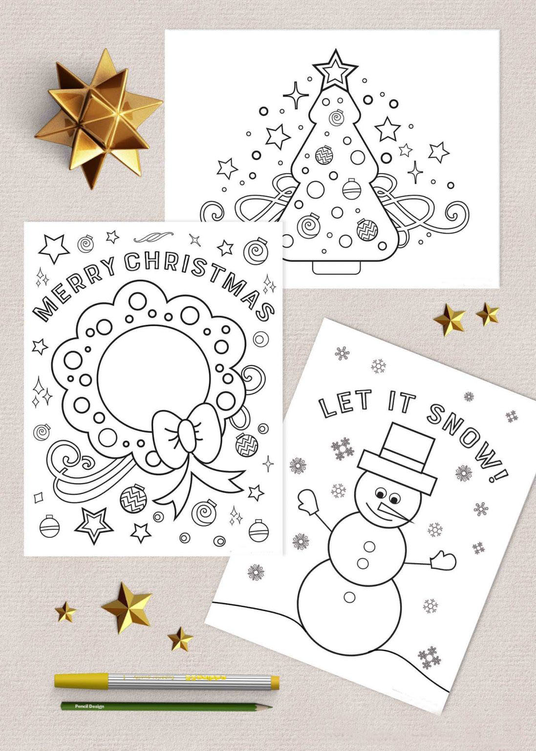Free Christmas Activity Sheets Printables, Download Free Clip Art ... | 1536x1097