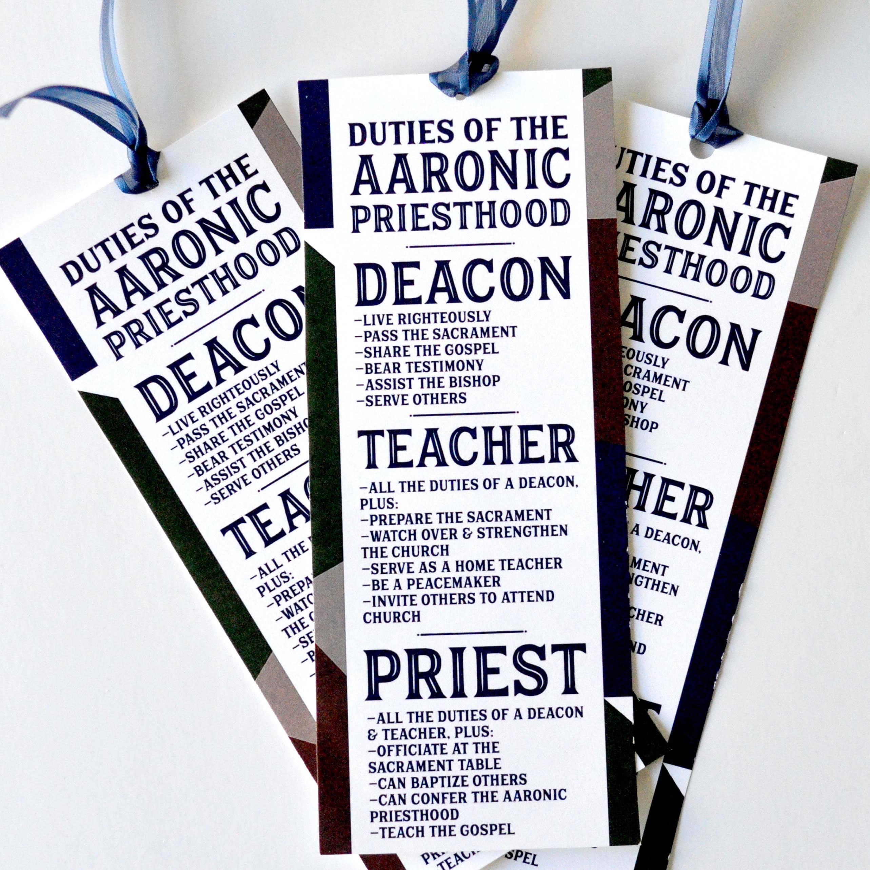 Priesthood Preview Printable Kit Lds Primary Printable Kit